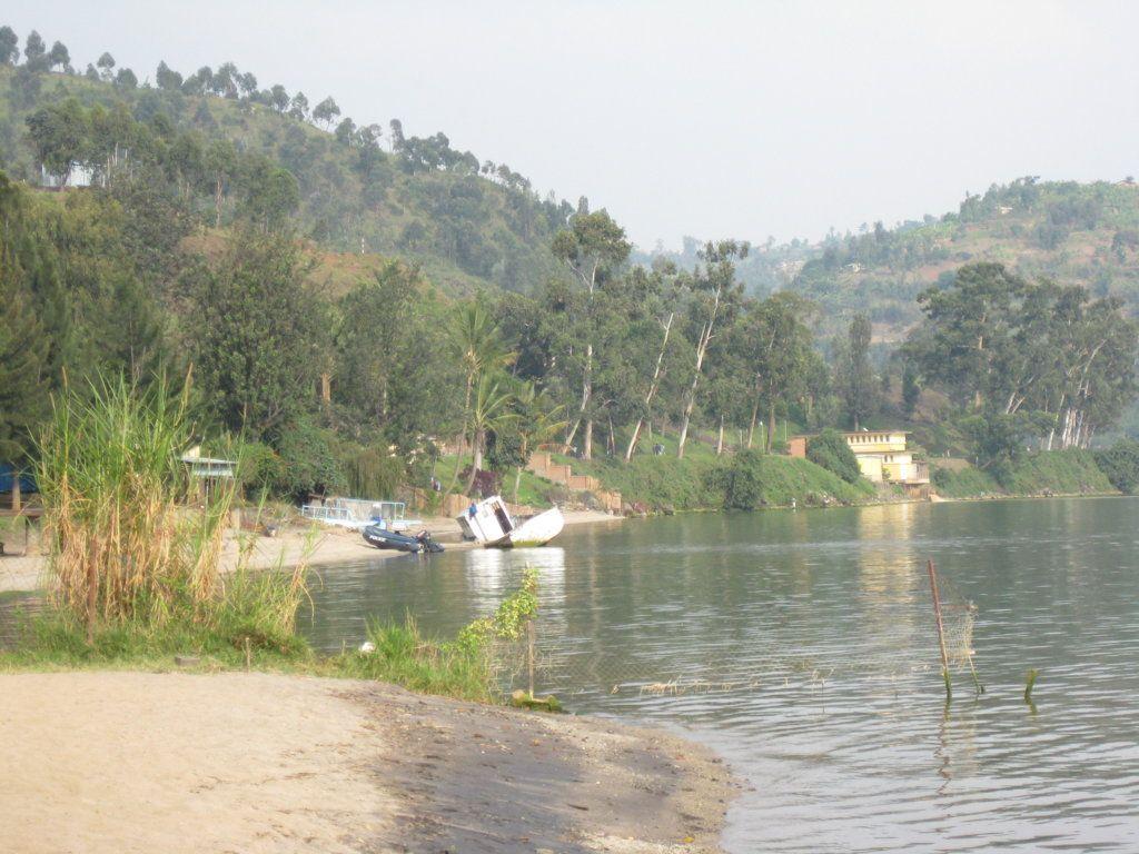 Lago Kivu, Gisenyi, Ruanda.
